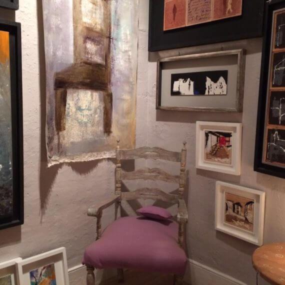 Home staging estudio pintora