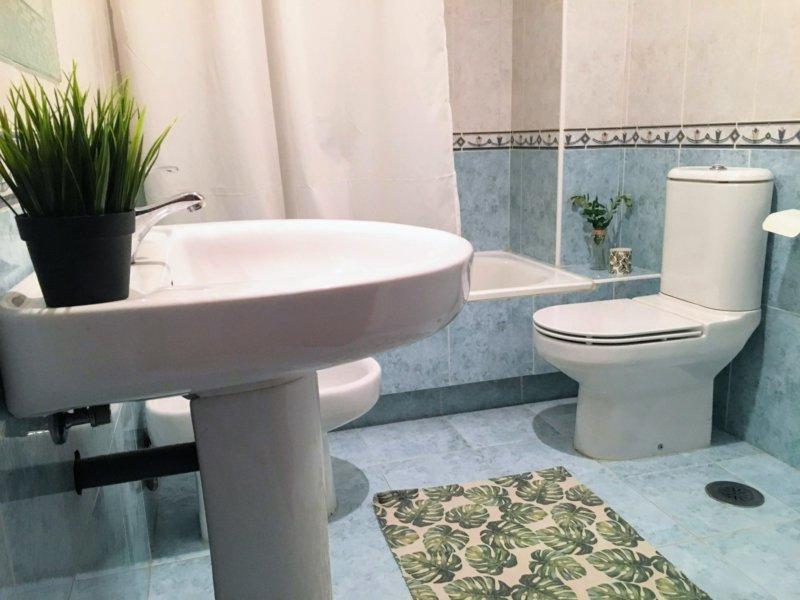 decoración baño low cost