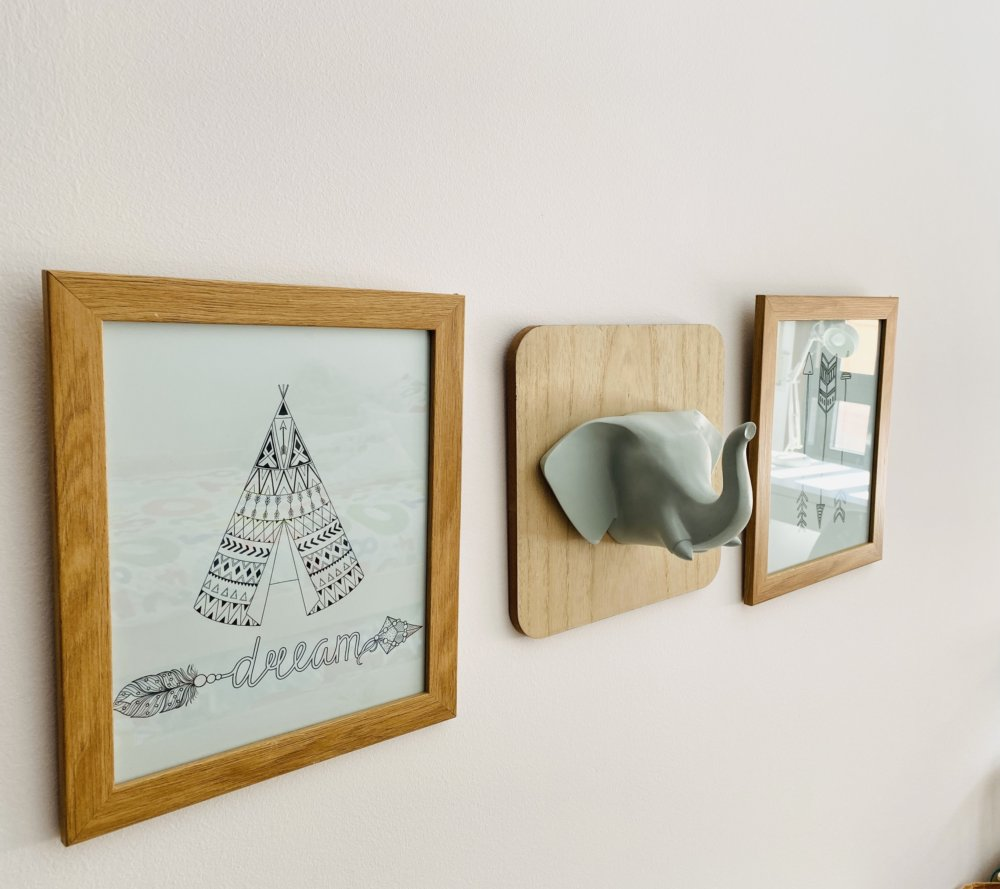 Detalle pared home staging