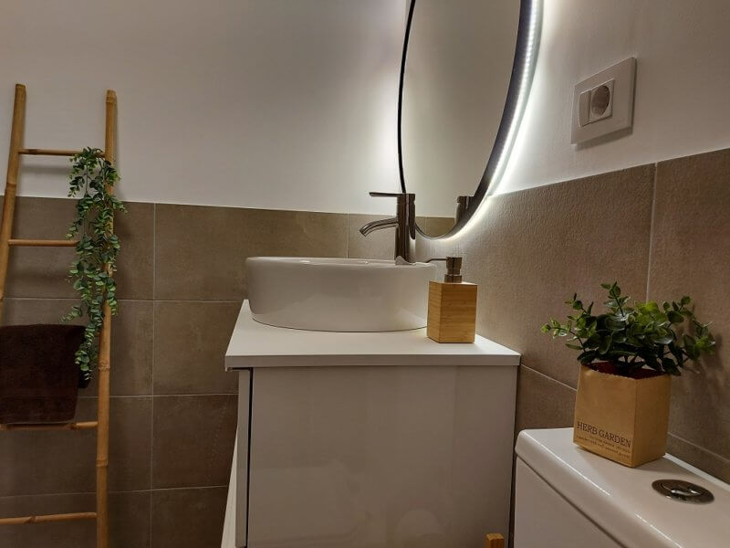baño home staging
