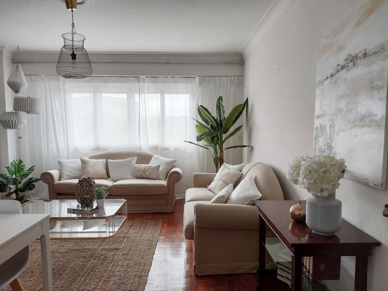 Salon home staging